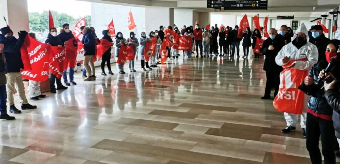 Manifestazione dei 141 oss