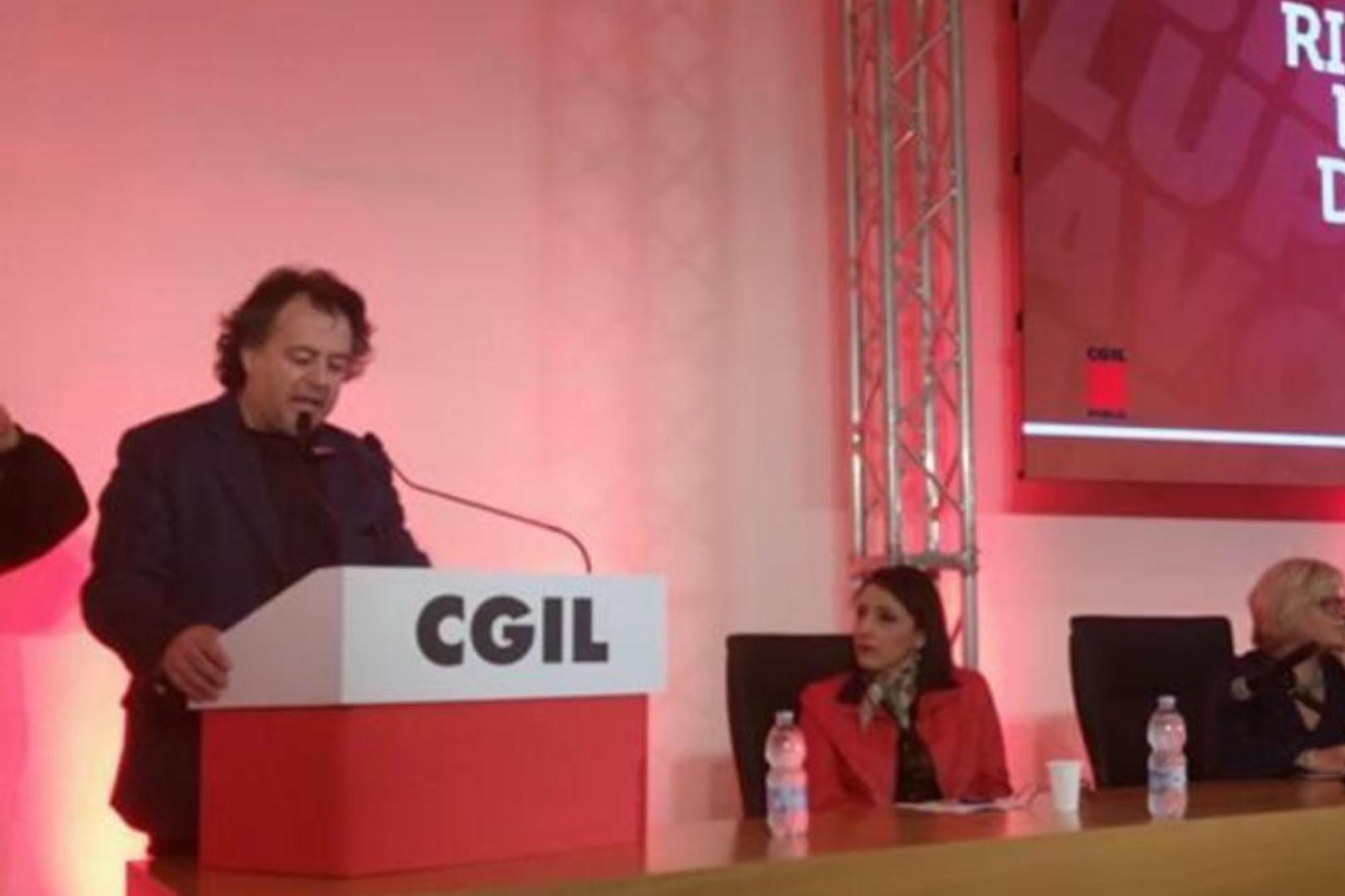 Antonio Macchia segretario generale CGIL Brindisi